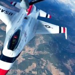 US Air Force Thunderbirds Aerial Refill with KC-135 Stratotanker