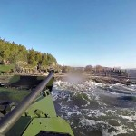 US Marines Assault Amphibious Vehicles Go for a Swim in Norway