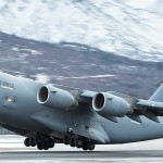 C-17 Lands & Takes Off @ Bryant Army Airfield, Alaska