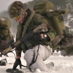 Military Beach Landing, Helo Insertion, Infantry Firefight During Exercise Cold Response 16