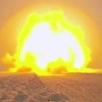 US Marines Demolition Range – Snow Explosion Fun