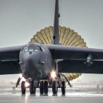 B-52 Stratofortress Bombers Land in Qatar