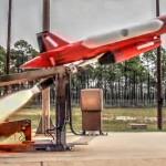 BQM-167 Skeeter Target Drone Launch