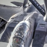 F-16, F-15 Aerial Refueling with KC-135 Stratotanker