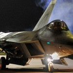 F-22 Raptors Night Launch – Deployment To Europe