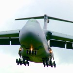 Massive C-5 Galaxy Jet Landing/Takeoff at RAF Fairford
