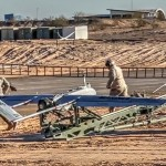 RQ-7 Shadow Drone Plane Launch & Recovery