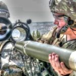 Army Soldiers Shooting the Powerful M3 Carl Gustav Recoilless Rifle