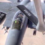 Boeing KC-135 Stratotanker Mid-Air Refueling Mission & Landing