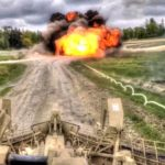 M58 MICLIC Clears Obstacle With Rocket Projected Explosive Line Charge