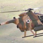 MD-530 Close Air Attack Helicopters Machine Gun Strafing Runs