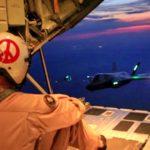 Aerial Refuel Mission – F35 Lighting II And KC-130J