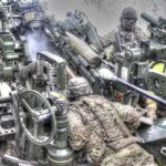 M777 155mm Lightweight Field Howitzer Live-fire