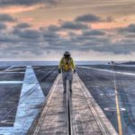 On The Flight Deck – USS Dwight D. Eisenhower Flight Operations
