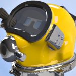 US Navy's Futuristic HUD Diving Helmet: Diver Augmented Vision Display (DAVD)