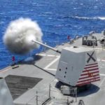 Guided-Missile Destroyer MK 45 5-Inch Gun Live-Fire