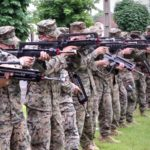 US Marines – French FAMAS Weapons Familiarization Class