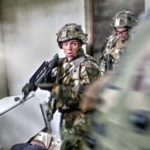 US Military In Intense Urban Combat Training In France