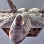 Air Force Aerial Refueling Mission: F-22 Raptors And KC-10 Extender