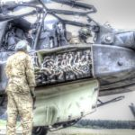 Apache Helicopter Preflight Prep And Takeoff