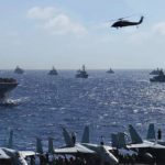 Forty Warships Parade At Sea – RIMPAC 2016