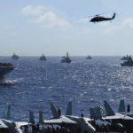Forty Warships Parade At Sea – RIMPAC 2016