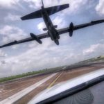 U-2 Chase Cars – Chasing The U-2 'Dragon Lady' On Runway