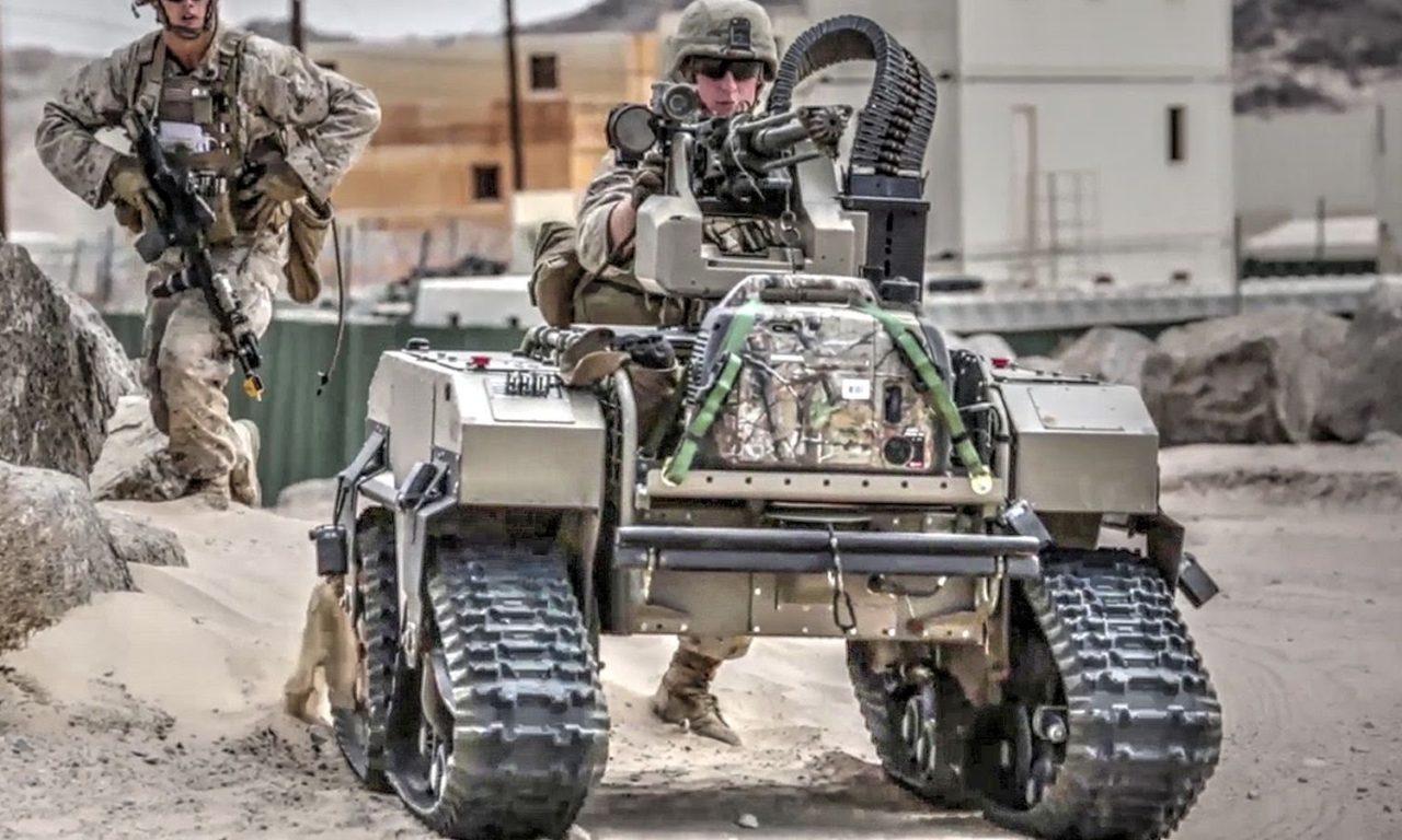 US Marines Futuristic Combat Robots In Action | AIIRSOURCE