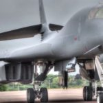 B-1B Takes-Off And Lands At RAF Fairford