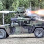 TOW Missile Shooting – Military Humvee TOW Missile Carrier