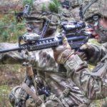 Paratroopers Assault On Mock Village