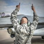 301st Fighter Wing F-16 Marshalling and Takeoff