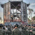 Acrophobia Not An Option For Marines – Rappel Tower Parris Island