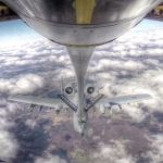 KC-135 Mid Air Refueling With A-10