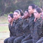 Marine Corps Female Recruits – Morning PT