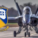 Blue Angels F-18 Hornet – Landing/Taxiing/Hangar