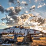 Stunning Sunset Time-Lapse At USAF Aircraft Boneyard