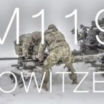 Army M119 Howitzer – Artillery Gunnery Table XVIII In German Snow