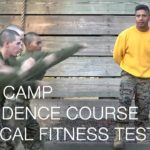 USMC Confidence Course and Physical Fitness Test