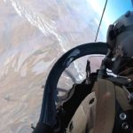 Afghan A-29 Super Tucano Training Flight Over Afghanistan – Cockpit View