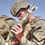 US Marines Forward Observers Direct Mortar Firepower During Fire Support Coordination Exercise