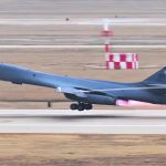A Rare Look Behind The Scenes Of B-1 Bomber Operation
