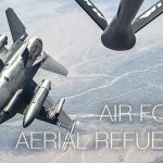 How Air Force Does Aerial Refueling: KC-135 Mid Air Refueling With F-16s