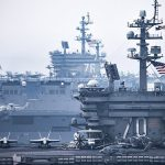 Most Powerful Concentration Of Naval Power Ever: USS Vinson, USS Reagan Together In Sea Of Japan