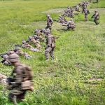 Platoon Attack On Mock Enemy Position – U.S. Marines Training In S. Korea