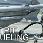 F-16 Hot Pit Refueling: Refueling While Jet Engine Running