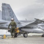 F-18 Engine Oil Change – U.S. Marines Hornet Squadron In Action