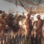 Marines Fire Howitzer In Desert – Watch Shockwave Sends Dust Flying Allover
