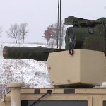 Soldiers Use TOW Missile To Take Out Mock Russian BMP – M41A7 TOW Improved Target Acquisition System