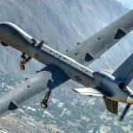 Air Force MQ-9 Reaper Drone Aircraft Soars Over California Skies